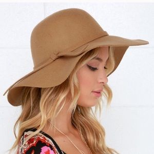 Accessories - Fall Winter Wool Floppy Hat